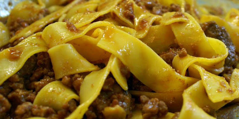 pappardelle sul maiale