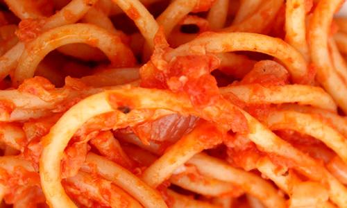 spaghetti al sugo finto
